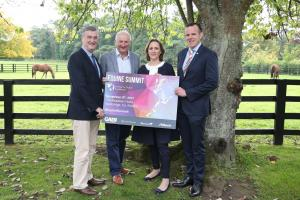 Pictured from left to right are: Leo Powell – Editor, The Irish Field, Henry Corbally – Glanbia Group Chairman, Sasha Kerins – Tax Partner, Grant Thornton and Neil Keane – Commercial Director, Alltech.