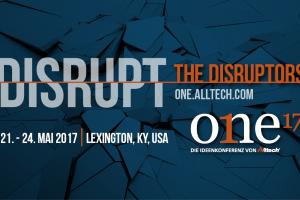 ONE'17 - Die Alltech Ideenkonferenz