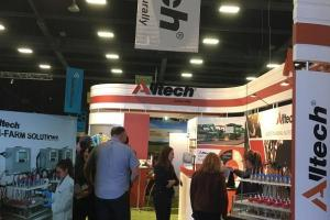 Alltech stand in the Main Pavilion PD33/PE34