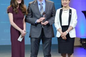 The 2016 Alltech Young Scientist (AYS) graduate winner Richard Lally of the Institute of Technology, Carlow in Ireland, pictured (center) with Dr. Aoife Lyons (left), director of educational initiatives at Alltech, and Victoria Liu (right), AYS program manager, received a fully funded postdoctorate position and $10,000 USD. Registration is now open for the 2017 competition, and students can register at AlltechYoungScientist.com