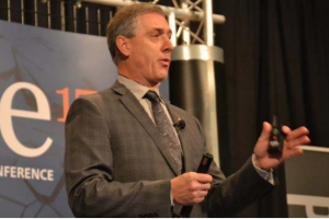 Paul Groenewegen, sales and nutrition manager, Alltech Canada, discusses the importance of quality piglet starter feeds during ONE17, The Alltech Ideas Conference.   Roy Graber
