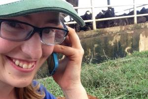 Christina Straathof, Dairy Career Development Program member