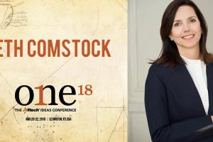 Beth Comstock, antigua vicepresidenta de GE, se subirá al escenario principal de ONE: The Alltech Ideas Conference