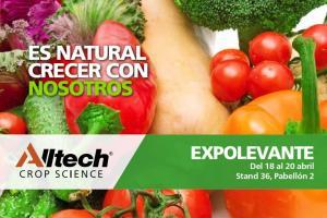 Alltech Crop Science presentará su gama de soluciones naturales para la producción de cultivos en la XIV edición ExpoLevante, Níjar