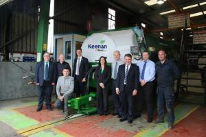Alltech & keenan reveal first green machine of the production line