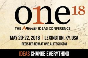 ONE: The Alltech Ideas Conference invita a los agricultores a explorar el poder transformador de las ideas