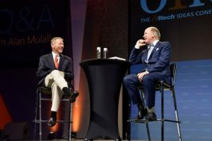 Former Ford CEO Alan Mulally shares insights from his experience building a team at the automaker with Dr. Pearse Lyons, president and founder of Alltech, at ONE: The Alltech Ideas Conference.