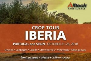 Crop Tour IBERIA - 21-26 oktober 2018 - Spanje & Portugal