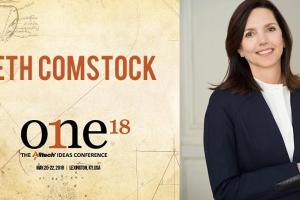Beth Comstock, antigua vicepresidenta de GE, se subirá al escenario principal de ONE: The Alltech Ideas Conference